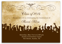 Online Printable Graduation Party Invitation